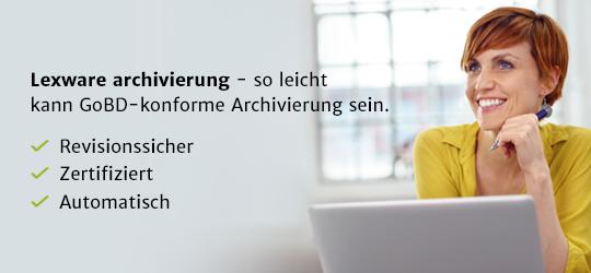 Lexware archivierung